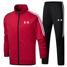 2019 Under Armour Men Training Jacket Jacket+Pants survetement homme Training Running Sets
