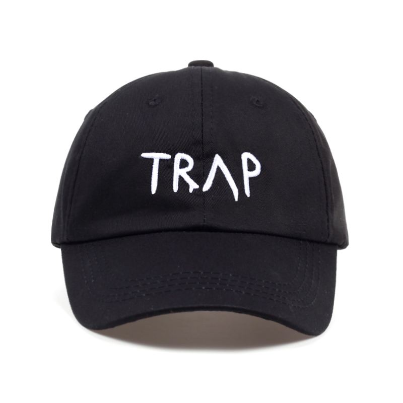 100% Cotton TRAP Hat Pretty Girls Like Baseball Cap Trap Music 2 Chainz Album Rap LP Dad Hat Hip Hop trap Hood Wholesale Custom brown eyes girls 6th album basic release date 2015 11 10 kpop album