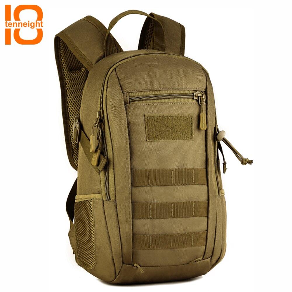 TENNEIGHT Militaire Tactique Sac À Dos hommes en plein air voyage randonnée sac à dos 12L Petit Molle Camouflage sac À Dos de sport femmes