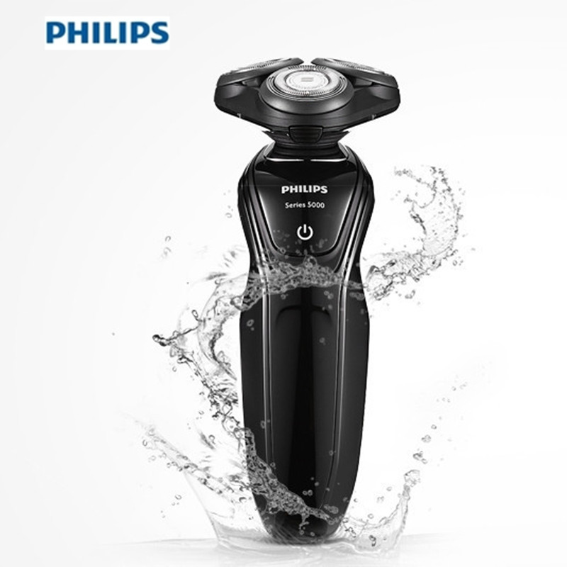 PHILIPS Electric Shaver Mini Rechargeable Triple Blades Razor Shaver Epilator Washable Cordless Shaver Beard Trimmer for Men philips pt786 electric men s shaver three heads razor