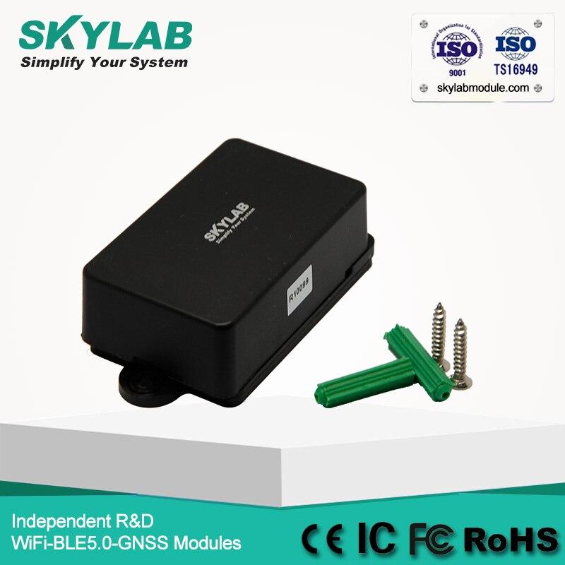 SKYLAB ibeacon eddystone ibeacon logistics petalways bluetooth ble 4.0 nordic nRF51822 beacon broadcasting mac address