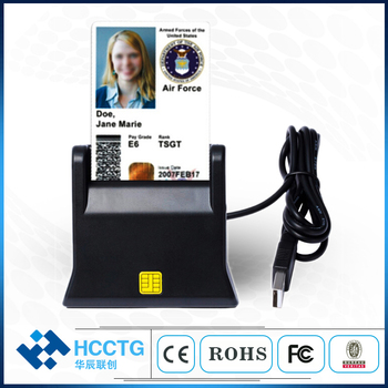 USB2.0  ISO 7816 Smart Card Reader Conformance with PC/SC CCID Protocal Insertion ID/IC EMV Smart Chip Card Reader DCR31