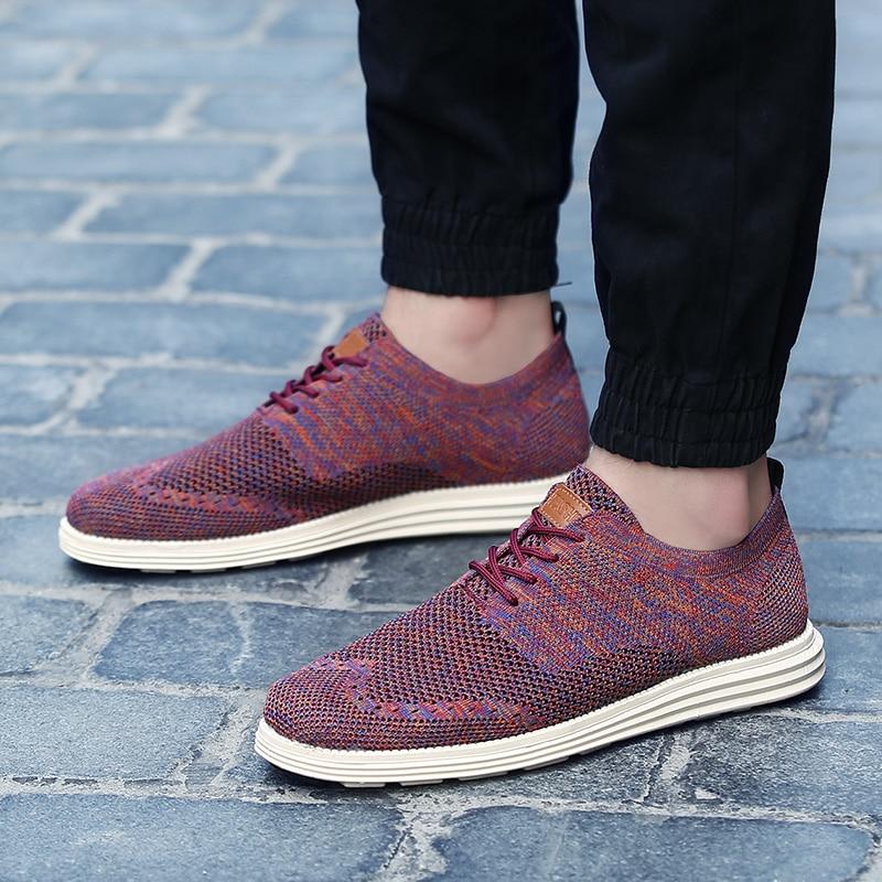 Fashion Cómodo Marca gris rojo Zapatillas Zapatos De Vulcanizar Verano Negro Sneakers Hombres Hombre Conducción Casual BnRWcaq4