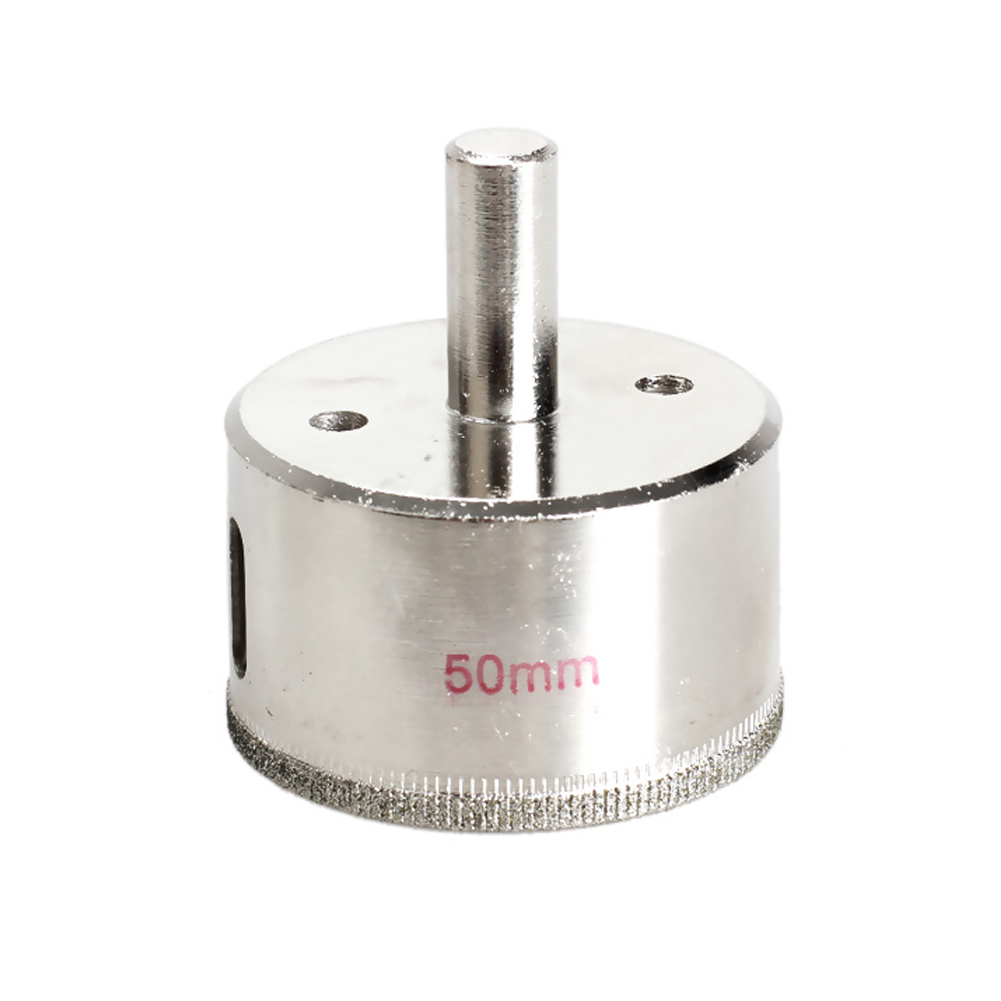 Professional 50mm Tile Glass Tipped Hole Saw Diamond Core Drill Metal Tool Glass ceramics hole drilling BS dropshipping professional tile glass tipped hole saw diamond core drill metal tool 70mm