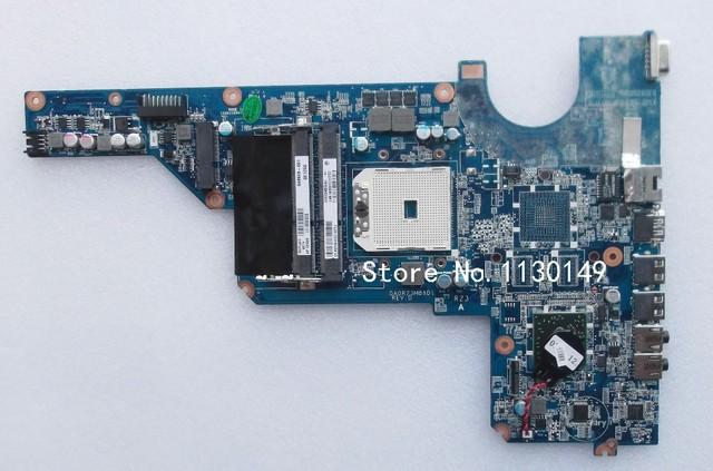 Da0r23mb6d0 frete grátis para hp pavilion g4/g6/g7 motherboard 649948-001 laptop motherboard amd integrado