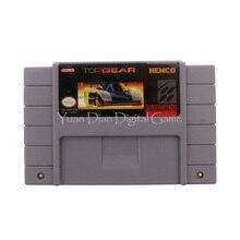 Nintendo sfc/snes игры картридж консоли карты top gear сша английская версия
