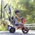 CANCHN triciclo infantil luz portátil bebé walker tipo tipo puede elija bebé bicicleta NW 6.2 kg de alto carbono marco de PPS de oxford tela