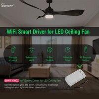 Sonoff IFan02 Ceiling Fan Controller WiFi Smart Ceiling Fan with Light APP Remote Control