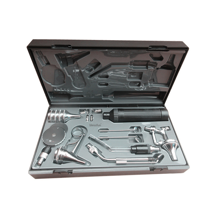 Professional Medical Diagnositc ENT Kit Ear Care Otoscope Ophthalmoscope Multi purpose Detect Set