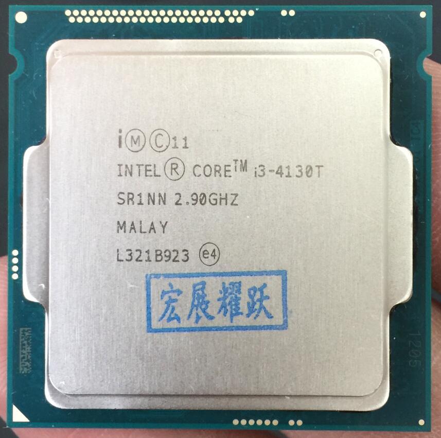 Intel Core Processeur I3 4130 t I3-4130T LGA1150 22 nanomètres Dual-Core 100% fonctionne correctement De Bureau Processeur