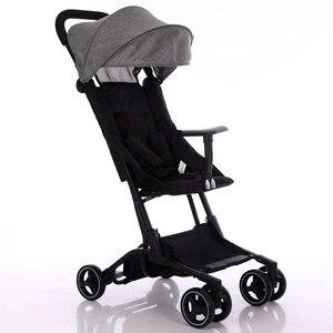 Image 2 - Originele yoya mini pocket kinderwagen opvouwbare paraplu trolley ultralichte auto baby Lichtgewicht kinderwagen draagbare op het vliegtuig