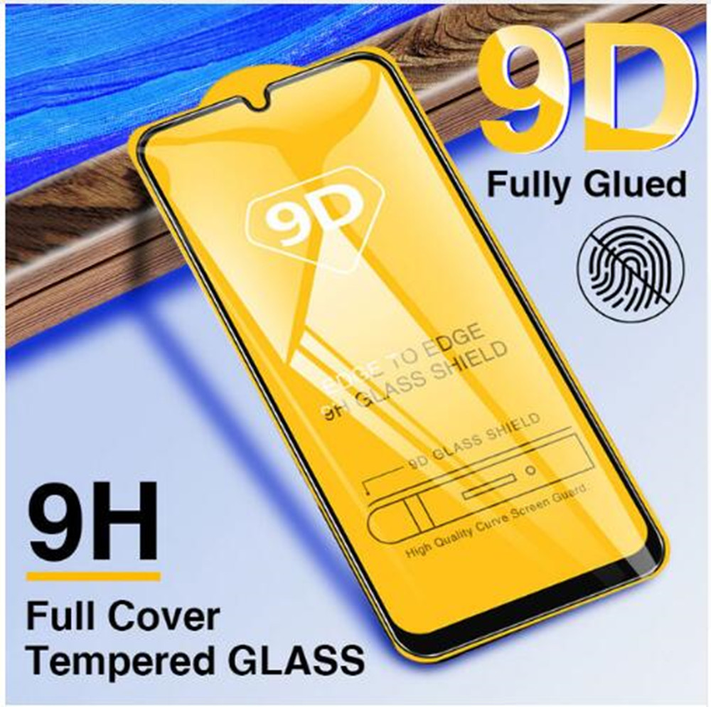 9H 3D Full Cover Tempered <font><b>Glass</b></font> For <font><b>SAMSUNG</b></font> Galaxy A10 A30 A40 <font><b>A50</b></font> A60 A70 A80 A90 2019 Tempered <font><b>Glass</b></font> Screen Protector Film image
