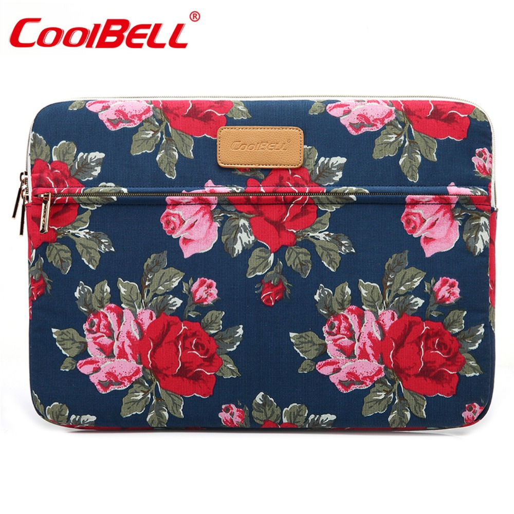 CoolBell Fashion Notebook Liner Sleeve Bag Case For 11.6 12.9 13.3 Inch Macbook Air Pro Waterproof Laptop Sleeve Bag For Women