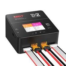 ISDT D2 200 W 24A AC двухканальный Выход Смарт Батарея баланс Зарядное устройство для радиоуправляемые машины самолеты для гоночного дрона rc вертолет