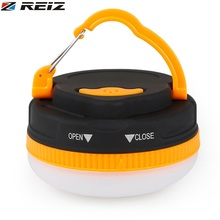 REIZ Multifunctional Outdoor Camping Lights LED Flashlight Portable Lantern Emergency Lamp Torch Light for TENT Accessory
