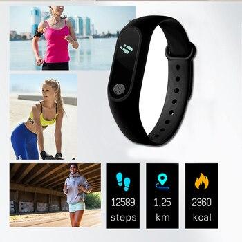 Sport Bracelet Smart Watch Kids Watches Children For Girls Boys Child Wristband Smart Band Fitness Tracker Smartwatch Smartband 4