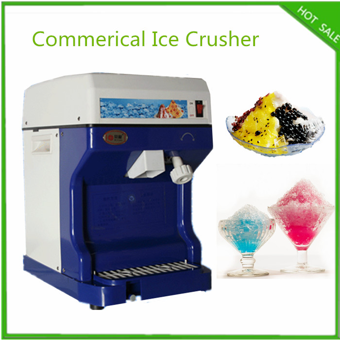 free ship commercial business use snow cone machine electric crushed ice machine 220v commerical crushed ice - Commercial Snow Cone Machine
