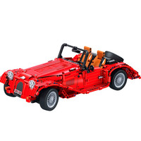 WEILE Technic Classic Vintage Convertible Car Building Blocks Sets Bricks City Model Kids Toys Gift Compatible Legoings MOC
