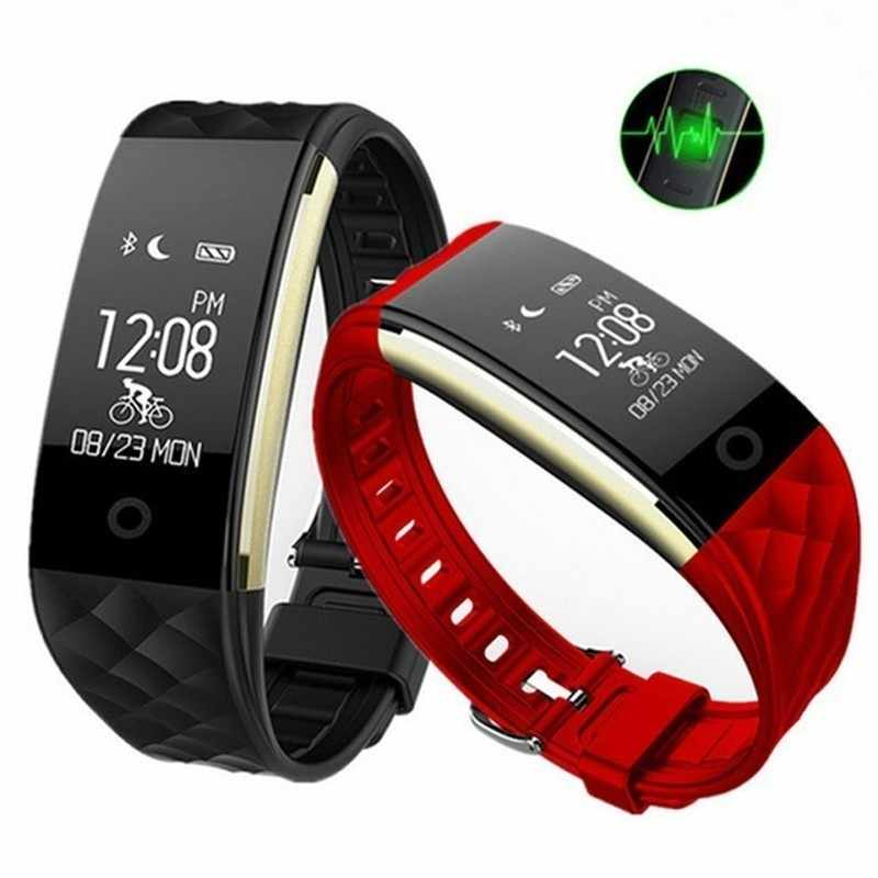 GIMTO Sport Smart Watch Men Blood Pressure Heart Rate Monitor Fitness Bracelet Femme 2019 Waterproof Smartwatch Health Wristband