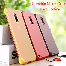 Luxury Borderless Case for Oneplus 7 Pro Phone Cases Transparent Back Cover for One plus 7 Pro Ultrathin Shockproof Matte Strop