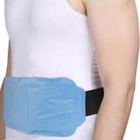 Hot & Cold Therapy Back Gel Ice Pack Wrap for Pain Relief on Large Areas