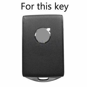 Image 2 - Funda de silicona para mando a distancia, para Volvo Xc90, Xc70, S60, S80, S90, C30, V70, V90, 2017, 2018