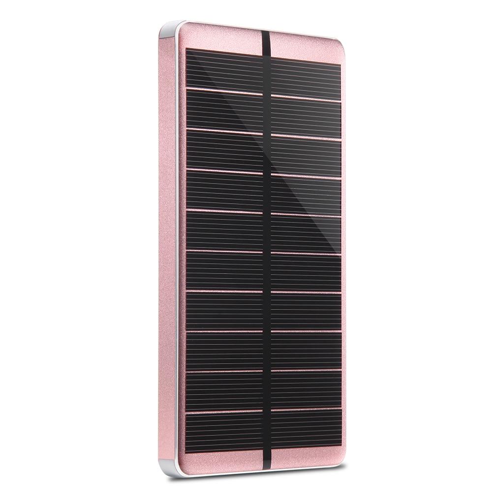 PowerGreen Slim Power Bank 10000mAh Baterai Eksternal Solar Charger - Aksesori dan suku cadang ponsel - Foto 4