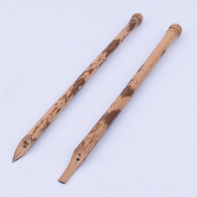 Chinese Vintage Bamboo Dip Pen For Calligraphy In Paint Brushes From