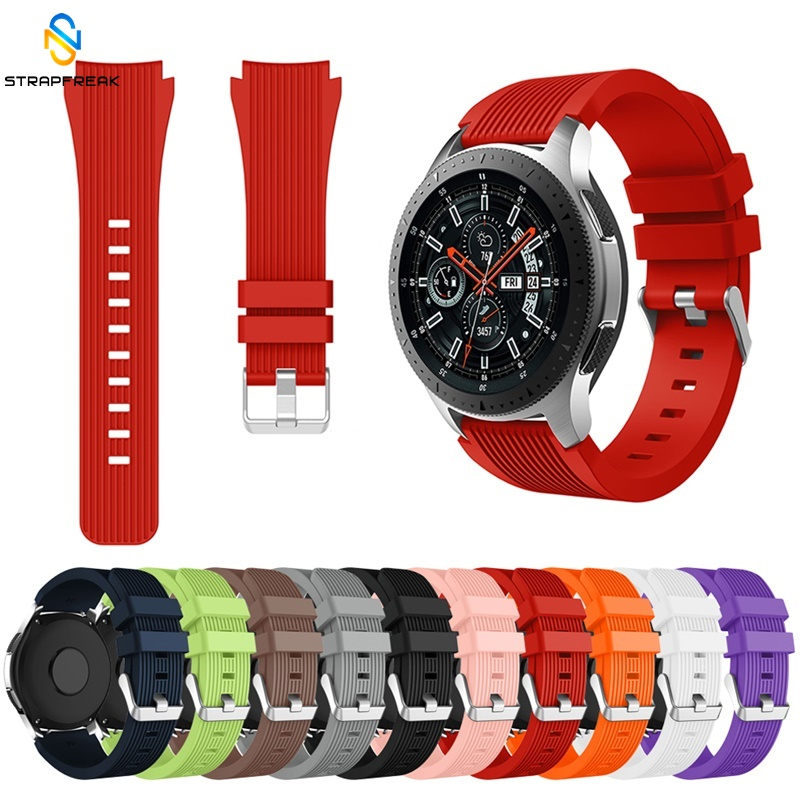 Strap For Samsung Galaxy Watch 46mm Sport Replacement Bracelet Belt Silicone Watch Band 22mm For Gear S3 Frontier/Classic