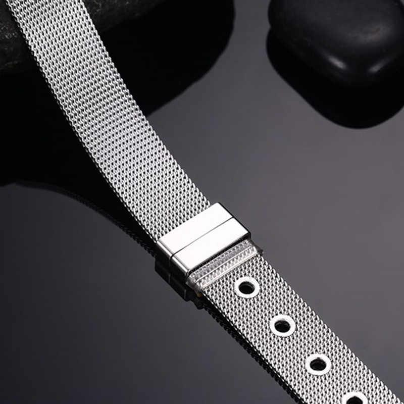 Vnox 調節可能なベルトのカフブレスレットバングルゴールドシルバーカラーのステンレス鋼エレガントなジュエリー