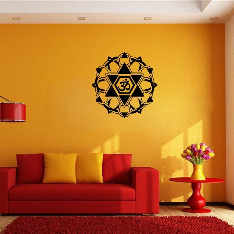 New Arrival Buddhist Art Wall Stickers India Mandala Stickers Home ...