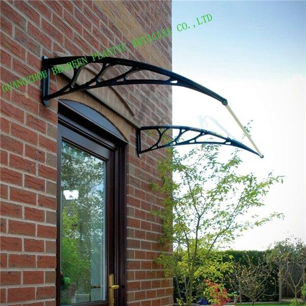 "YP 80120 ALU 80x120cm 31.5""x47 prefab diy structure aluminium bracket frame roof plastic sheet shelter shae awning window canopy"