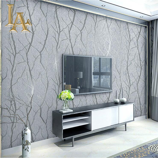 Fashion Abstract Thick Flocked Striped Wallpaper For Walls 3 D Stripes Wall Paper Modern Living Room