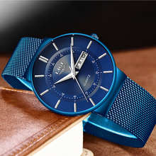 LIGE Watches Blue Quartz All Steel LIGE9949