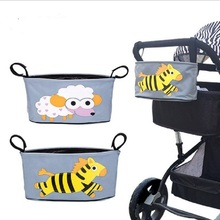 Hot selling baby stroll Accessories Baby Carriage Pram Cart Bottle Diaper Bag Polyester Newborn Nappy Bag Stroller bag
