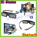 Free Shipping Gift Idea New Genuine Original 3D Bluetooth Active Shutter Glasses for Samsung for LG TV HDTV Blue-ray Player