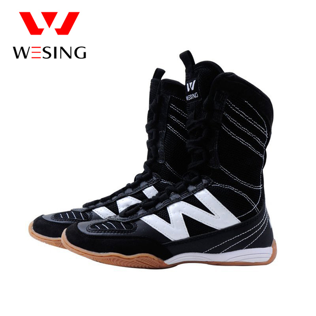 wesing boxing shoes kick boxing shoes  wrestling shoes for training and competetiong