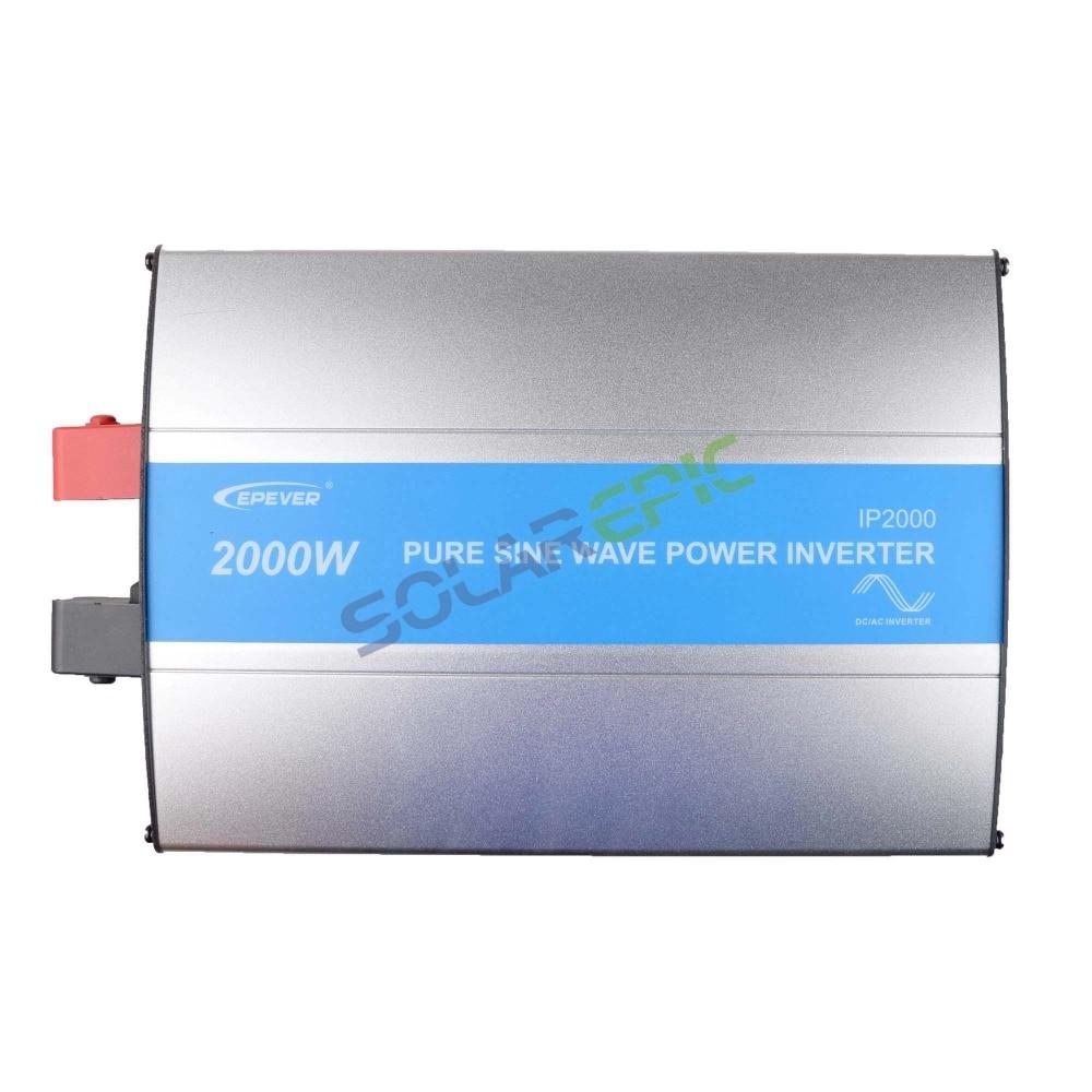 Epever 2000W Off Grid Inverter 24V or 48VDC to AC110V or 220V Pure Sine Wave Power