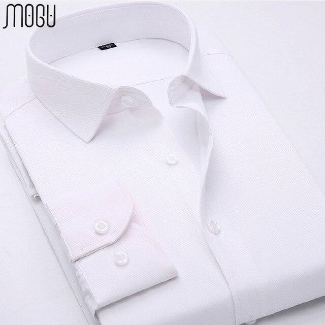 Рубашка мужчины качество марка одежды мужчины рубашка slim fit с длинным рукавом рубашки мужчин размер M-5XL