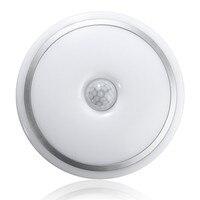 12W PIR Motion Sensor Acrylic Led Ceiling Light Lamp Warm White White Modern Restaurant Bathroom Ceiling
