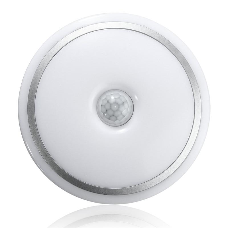 Led Ceiling Lights With Sensor: 12W PIR Motion Sensor Acrylic Led Ceiling Light Lamp Warm