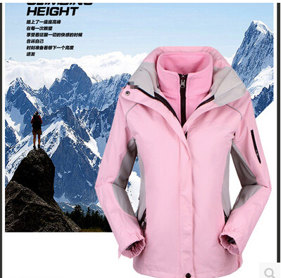 Outdoor Sports Warm Wind Winter Woman Ski Mountaineering Camping Hiking Piece Suit Jacket Large Size S-XXXL