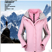 Jacket Woman Suit Hiking-Piece Ski Winter Warm Wind Outdoor Mountaineering S-XXXL Sports
