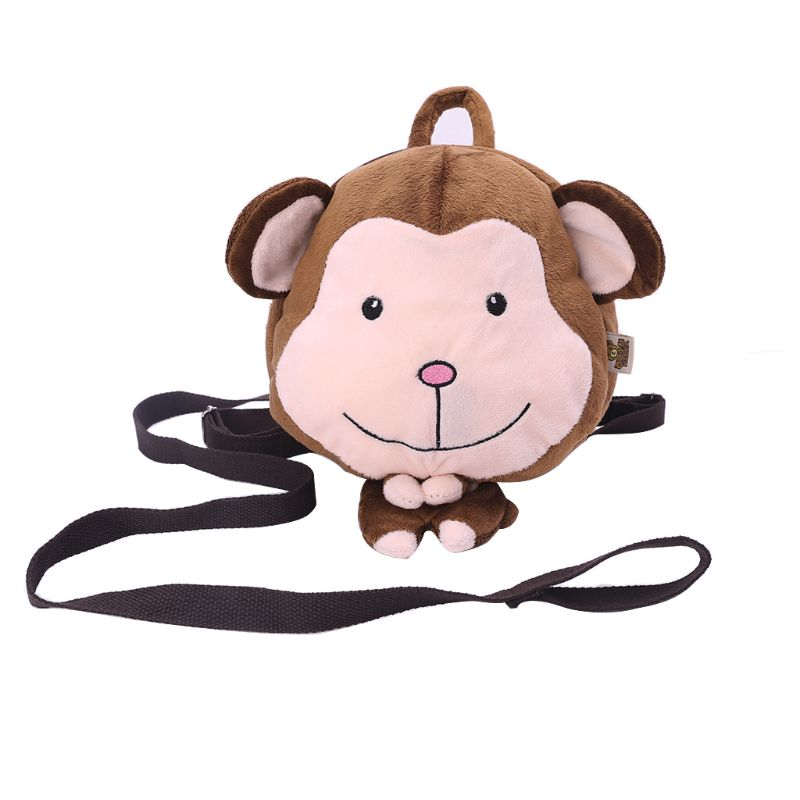 Kids Safety Harness Backpack Leash Toddler Baby Anti Lost Cartoon Animal Bag