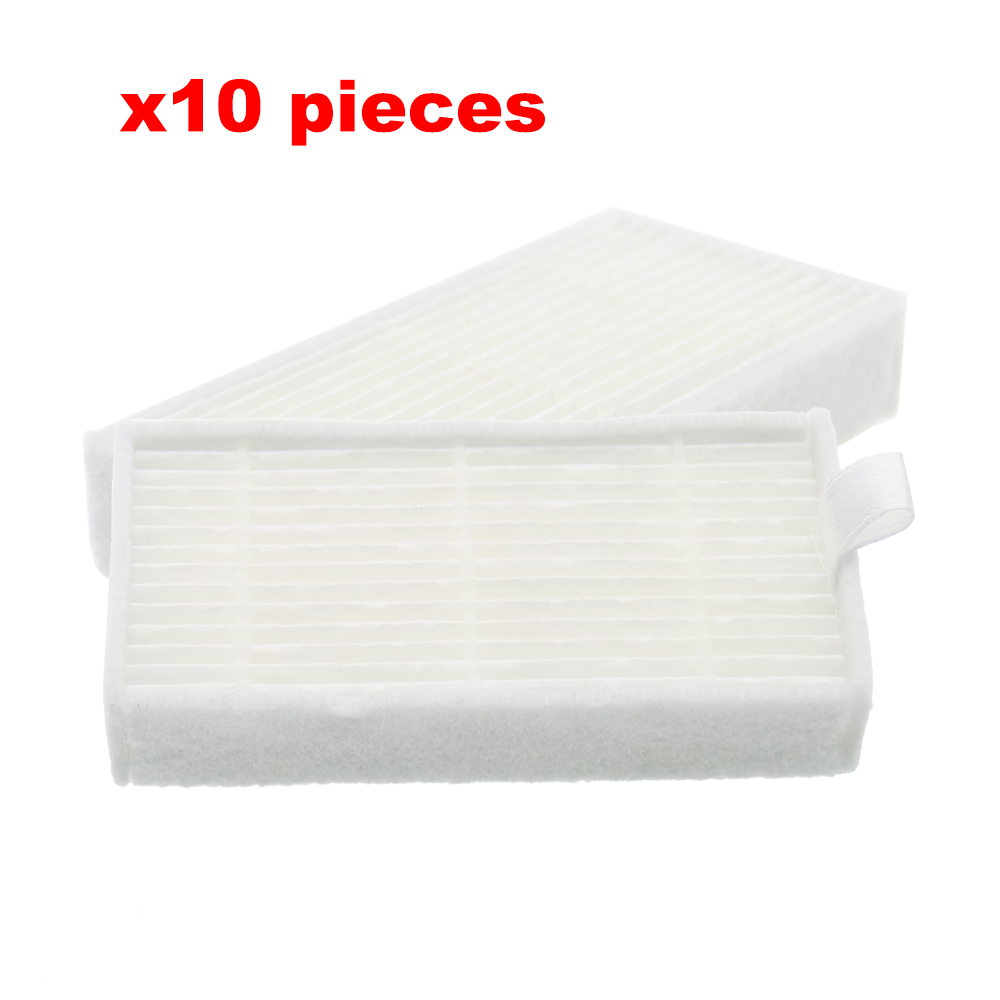 10 Pieces /lot Robot Vacuum Cleaner HEPA Filter Replacement For Chuwi Ilife V1 Robotisc Vacuum V55 V50 Accessories As Seen On Tv