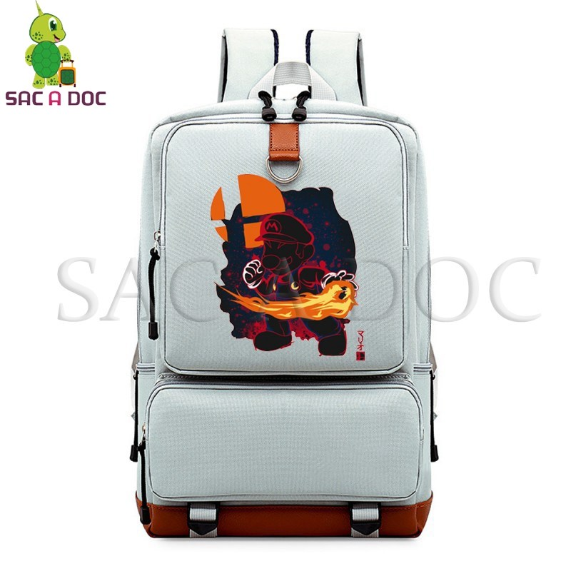 Super Mario Fluorescence Laptop Backpack School Bags for Teenagers Girls Boys Daily Backpack Large Capacity Travel BagsSuper Mario Fluorescence Laptop Backpack School Bags for Teenagers Girls Boys Daily Backpack Large Capacity Travel Bags