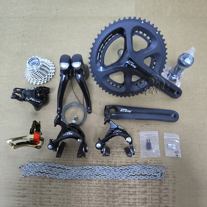 Shimano 105 5800 2x11S Speed Road Bike Groupset 50-34T 53-39T 170mm 172.5mm Spare Parts for Road Bike Bicycle