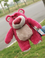 small lovely teddy bear toy cute stuffed strawberry teddy bear gift about 40cm