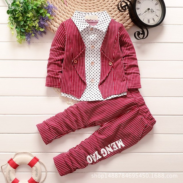 a8e626733 2017 Summer Cotton Baby Boys Clothing Sets Children Long Sleeved ...