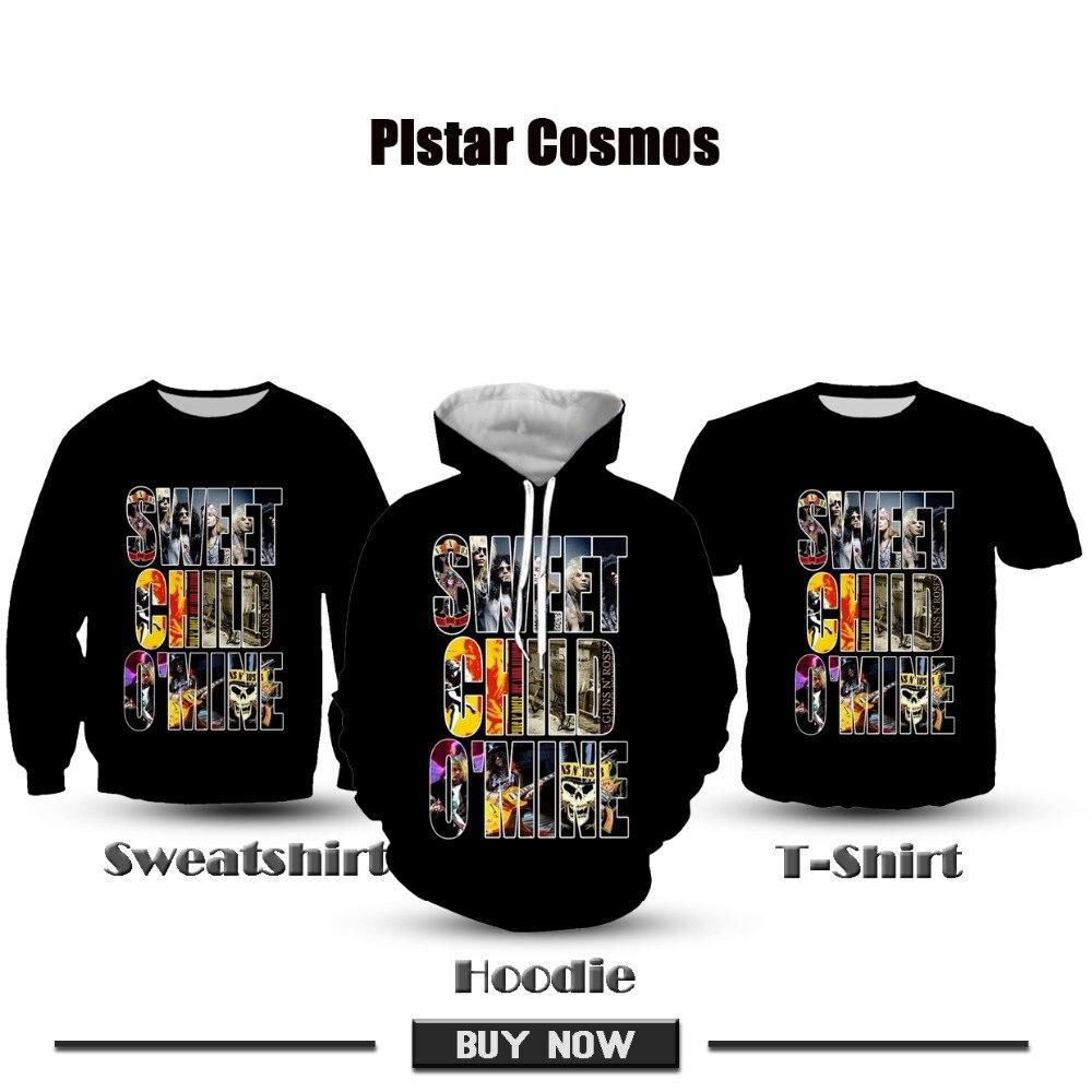PLstar Cosmos 2019 New 3D Print Sweet child o 39 mine Hoodies Women Men 39 s Casual Hooded Sweatshirt Top Tees Dropshipping in Hoodies amp Sweatshirts from Men 39 s Clothing